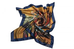 "Neck Scarf ""Confession of Violoncellist"""