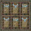 "Square neck scarf ""Parzatumar""- img. 3"
