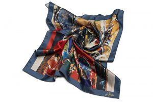 "Square neck scarf ""Narekatsi"""