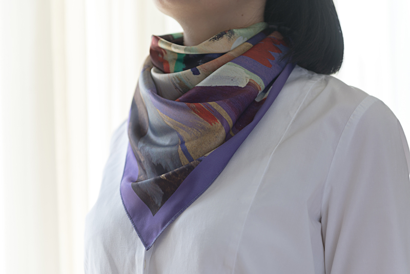 "Neck Scarf ""Passionate Dance"" - img. 2"