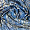 """Silk scarf """"A fragment of a curtain""""- img. 2"""