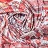 "Silk scarf ""Curtain"""