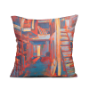 "Square art pillow ""Studio"""