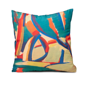 "Square pillow ""Hrazdan valley"""
