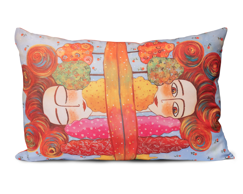 "Decorative art pillow ""Self Lullaby"""