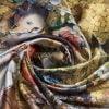 "Silk scarf ""Andersen's Birthday""- img. 3"