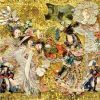 "Silk scarf ""Andersen's Birthday""- img. 4"
