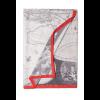 "Women's neck scarf ""Universal World Map"""