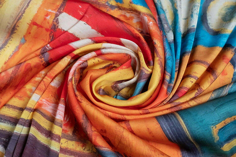 "Womens neck scarf ""Masquerade"" - img. 2"