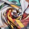 """Silk Scarf """"Meditations #23"""" - img. 2"""