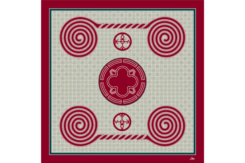 "Women's neck scarf ""Zvartnots"" - img. 5"