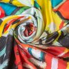 "Silk Scarf ""In Your Dream""- img. 2"