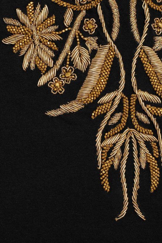 Alexander McQueen embroidery